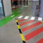 Rapidline magazijnbelijning markeringen halbelijning UV-coating