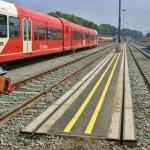 2.1 tussen rail markeringbew
