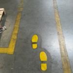 RapidLine schoonmaken belijningen magazijnbelijning coating aanrijbeveiliging 2