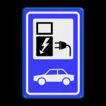 Bewegwijzering bord RapidLine Tekstinformatieborden belijning 7