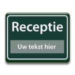 Bewegwijzering bord RapidLine Tekstinformatieborden belijning 8
