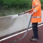 RapidLine voorbehandelen ondergrond belijningen bebording wegbezijzering aanrijbeveiliging 10