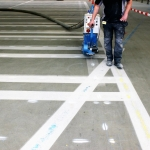RapidLine voorbehandelen ondergrond belijningen bebording wegbezijzering aanrijbeveiliging 23