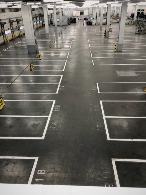 RapidLine koel warehouse belijning
