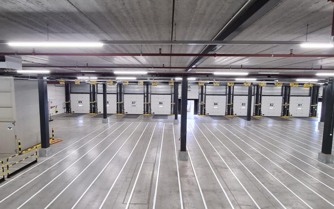 Nieuwe belijning voor Logistiek centrum